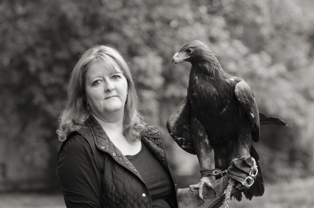 Cathie and Eagle