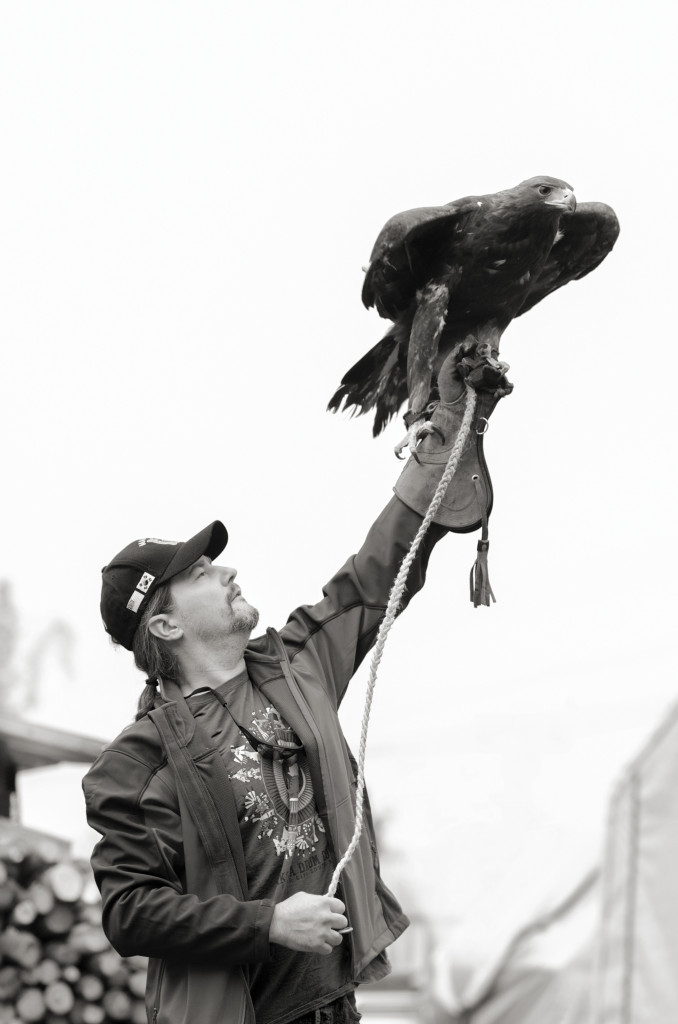 P.S.D. Veteran with Eagle