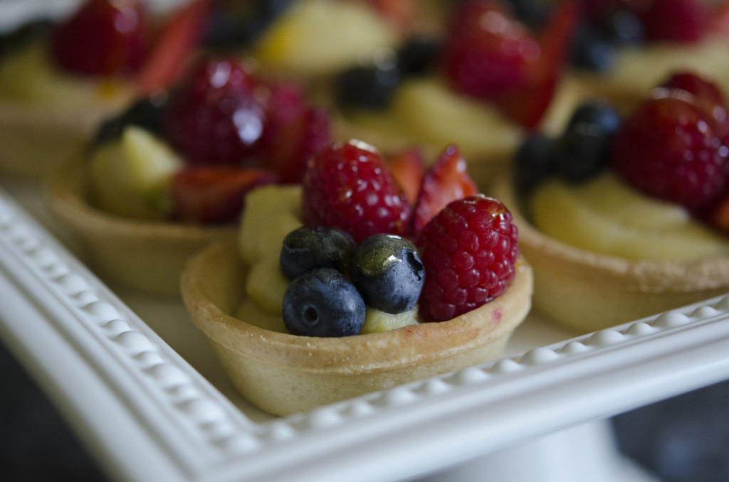 The Crown Arts | Summer Garden Party Fruit Tarts