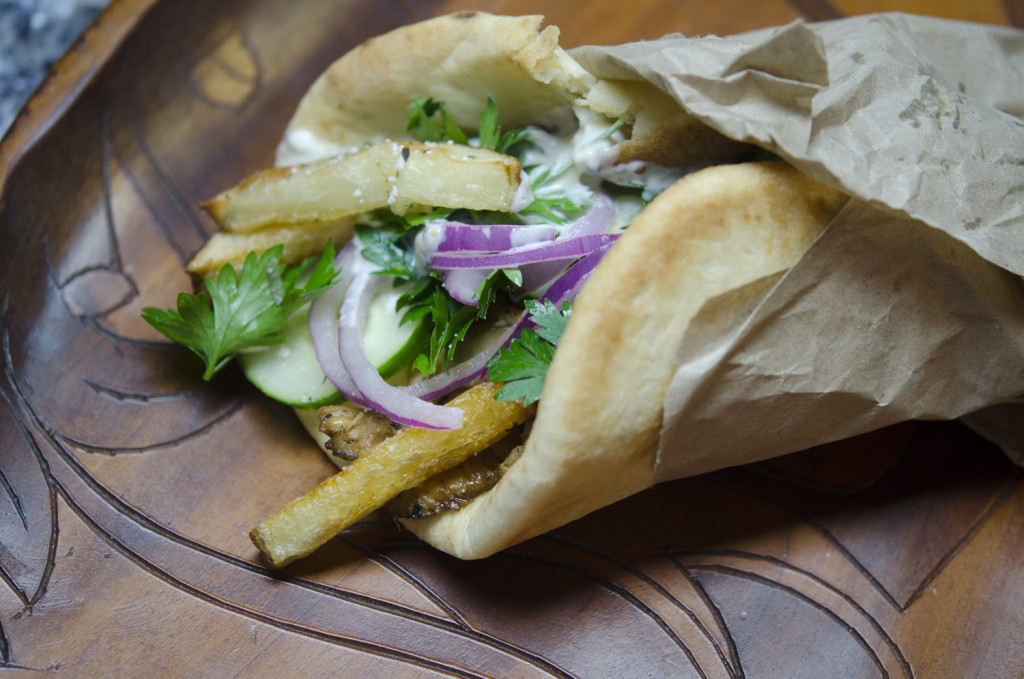 The Crown Arts | Greek Chicken Souvlaki